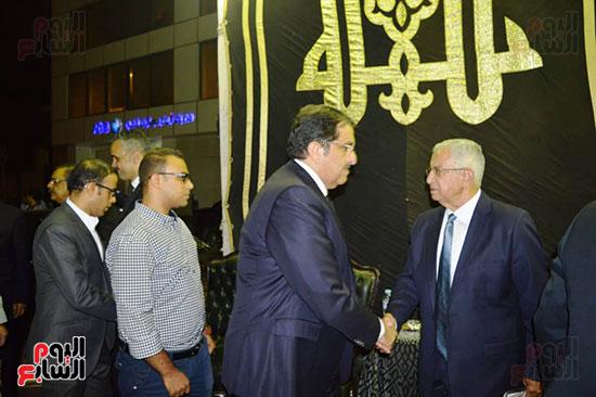 صور عزاء رجل الأعمال عمرو علوبة (14)