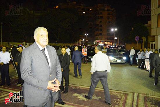 صور عزاء رجل الأعمال عمرو علوبة (9)