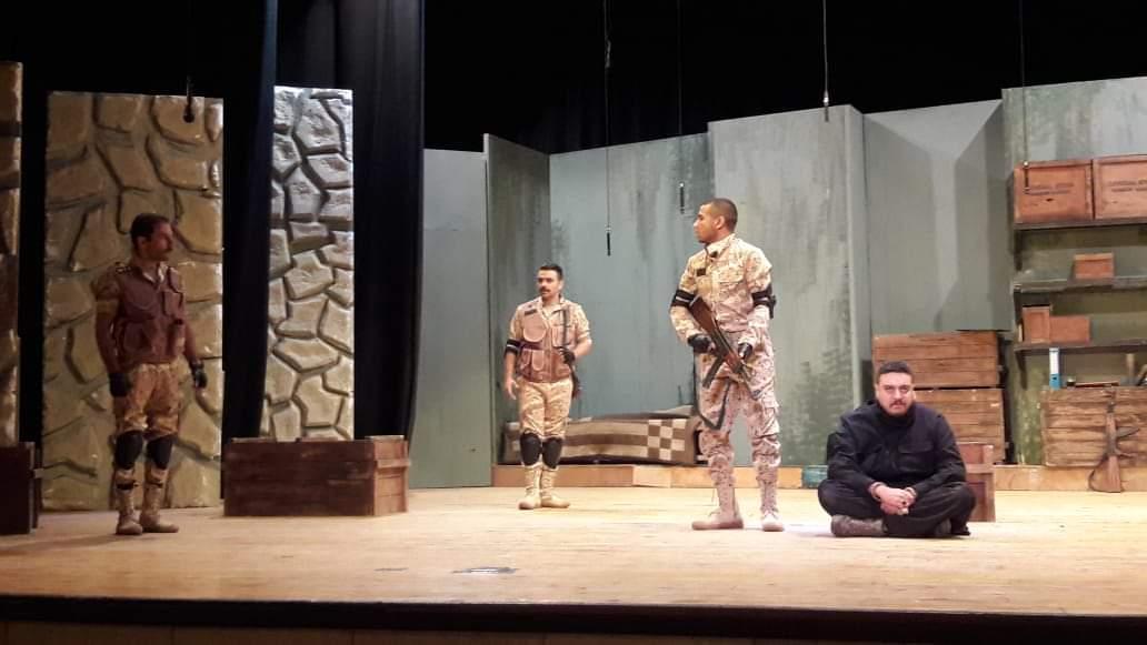 مسرحية أمر تكليف تتألق على مسرح قصر ثقافة الأقصر (3)