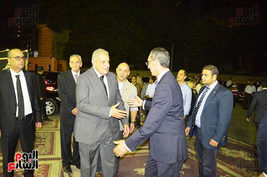 صور عزاء رجل الأعمال عمرو علوبة (6)