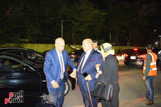 صور عزاء رجل الأعمال عمرو علوبة (16)