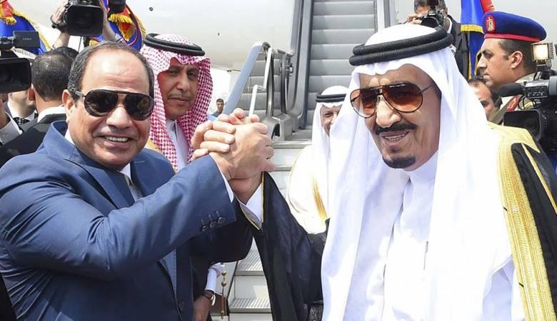 الرئيس السيسى مع الملك سلمان