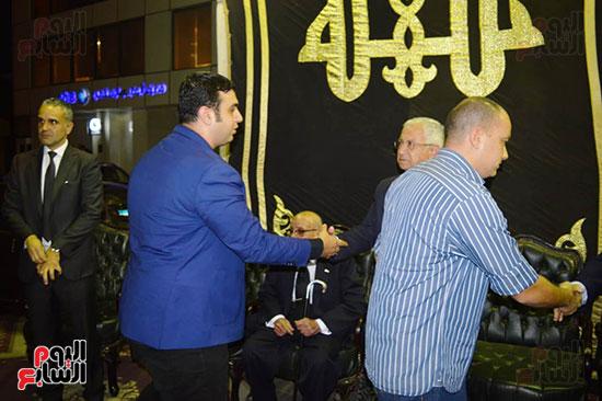 صور عزاء رجل الأعمال عمرو علوبة (10)