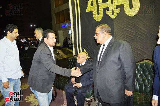 صور عزاء رجل الأعمال عمرو علوبة (26)