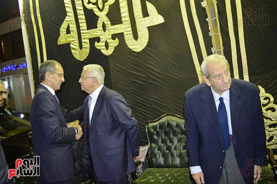 صور عزاء رجل الأعمال عمرو علوبة (11)