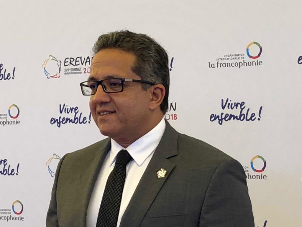 وزير الأثار ممثلا عن مصر فى افتتاح القمة الـ 17 للمنظمة الدولية للفرانكفونية  (1)