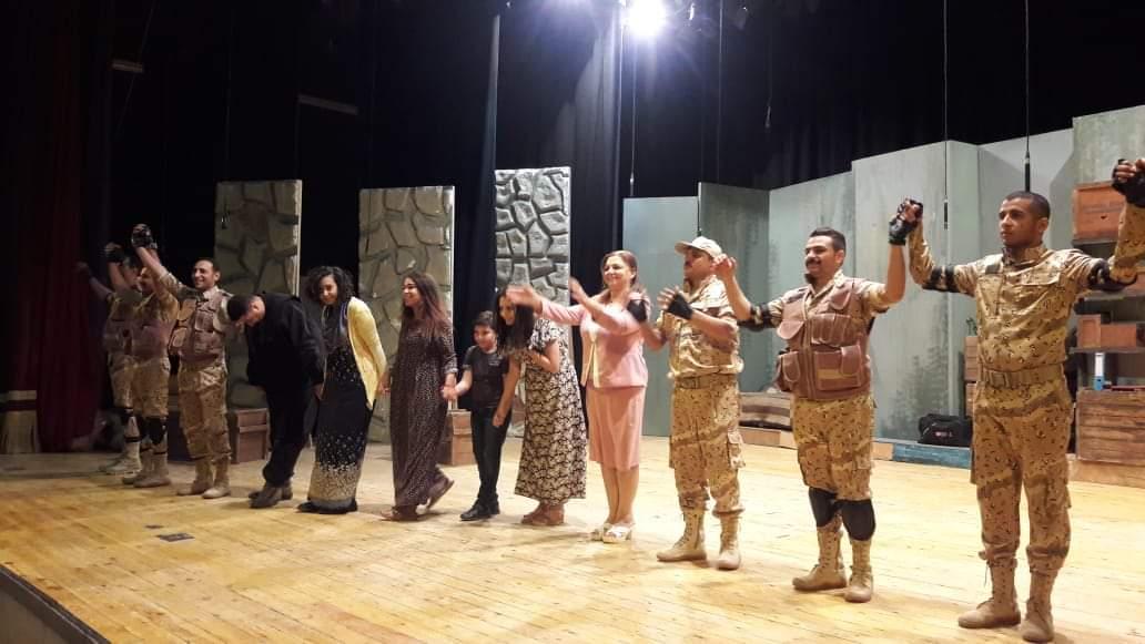 مسرحية أمر تكليف تتألق على مسرح قصر ثقافة الأقصر (5)