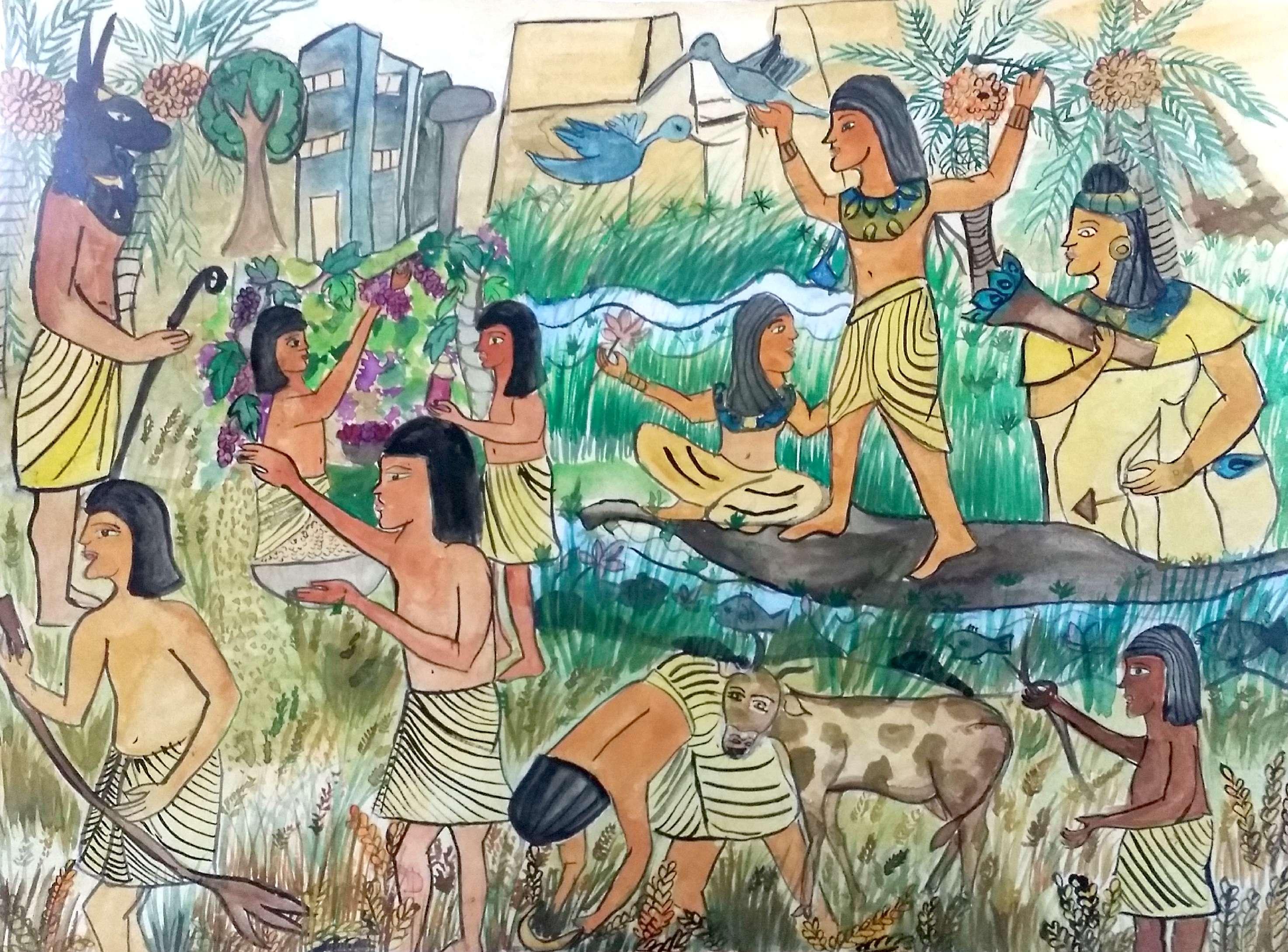 اللوحة الفائزة بميدالية ذهبية من دولة سريلانكا