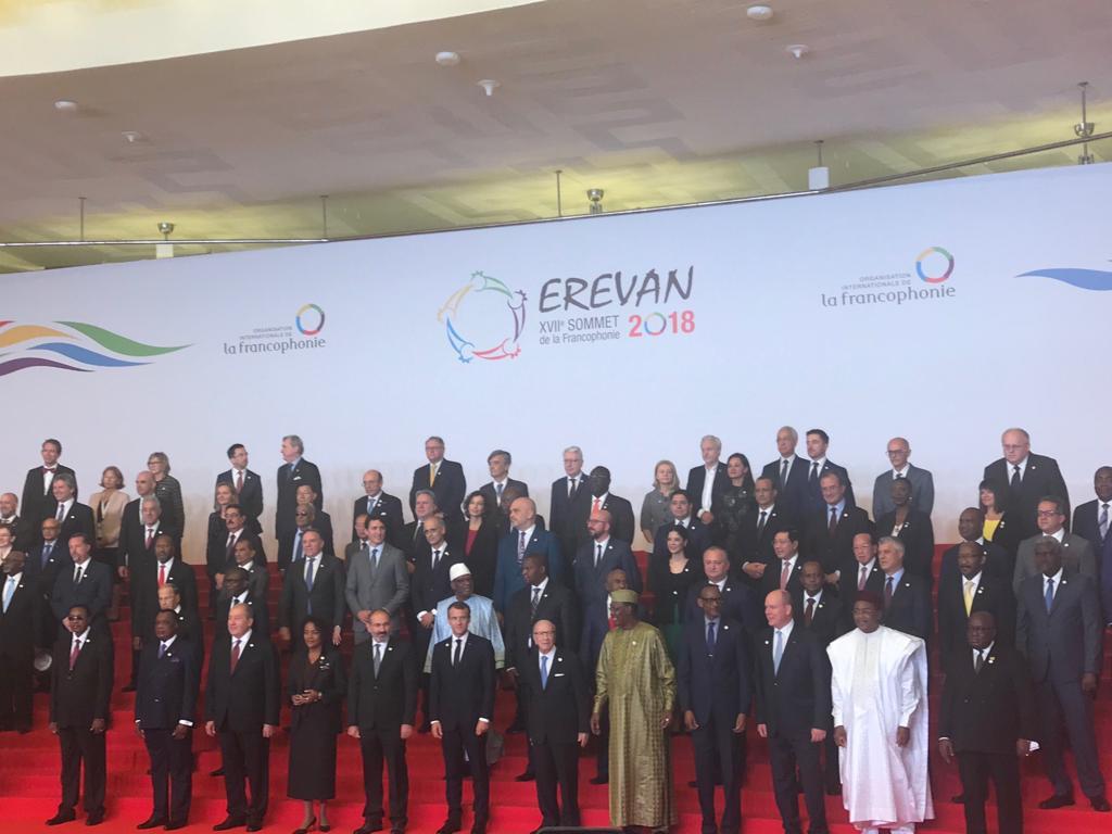 وزير الأثار ممثلا عن مصر فى افتتاح القمة الـ 17 للمنظمة الدولية للفرانكفونية  (3)