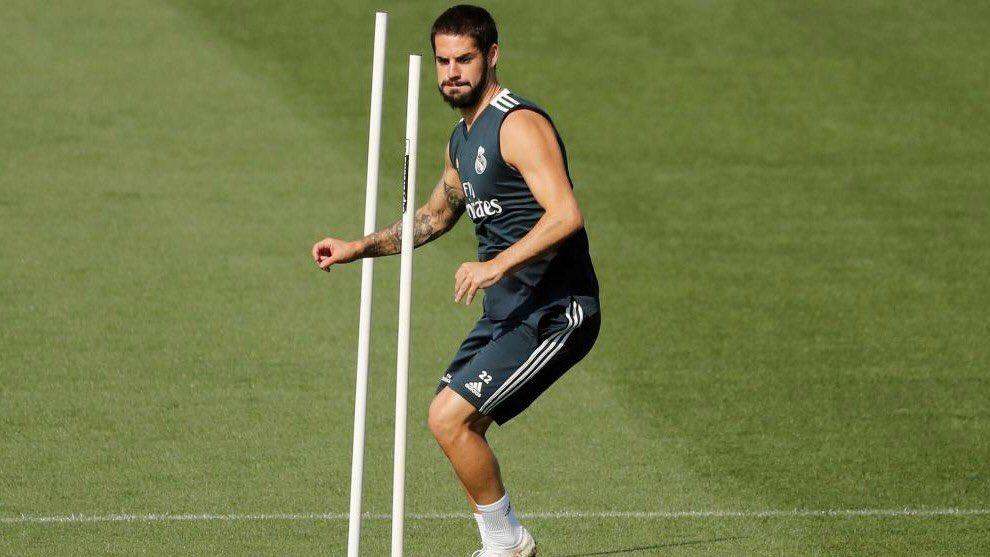 إيسكو نجم خط وسط ريال مدريد