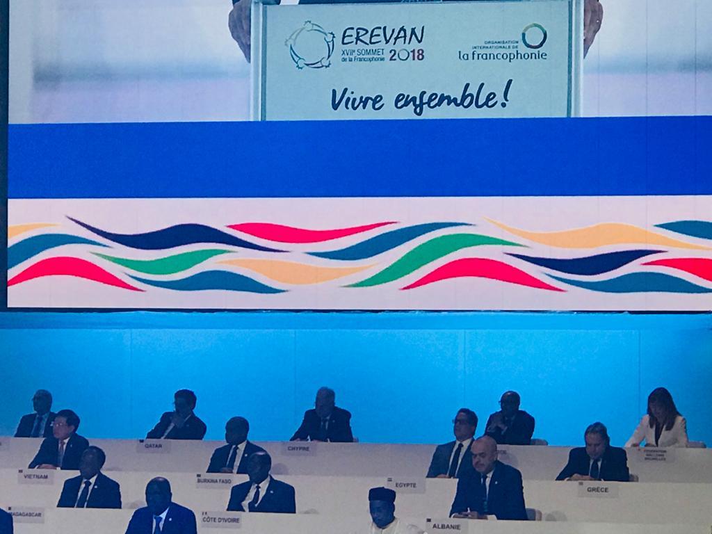 وزير الأثار ممثلا عن مصر فى افتتاح القمة الـ 17 للمنظمة الدولية للفرانكفونية  (4)
