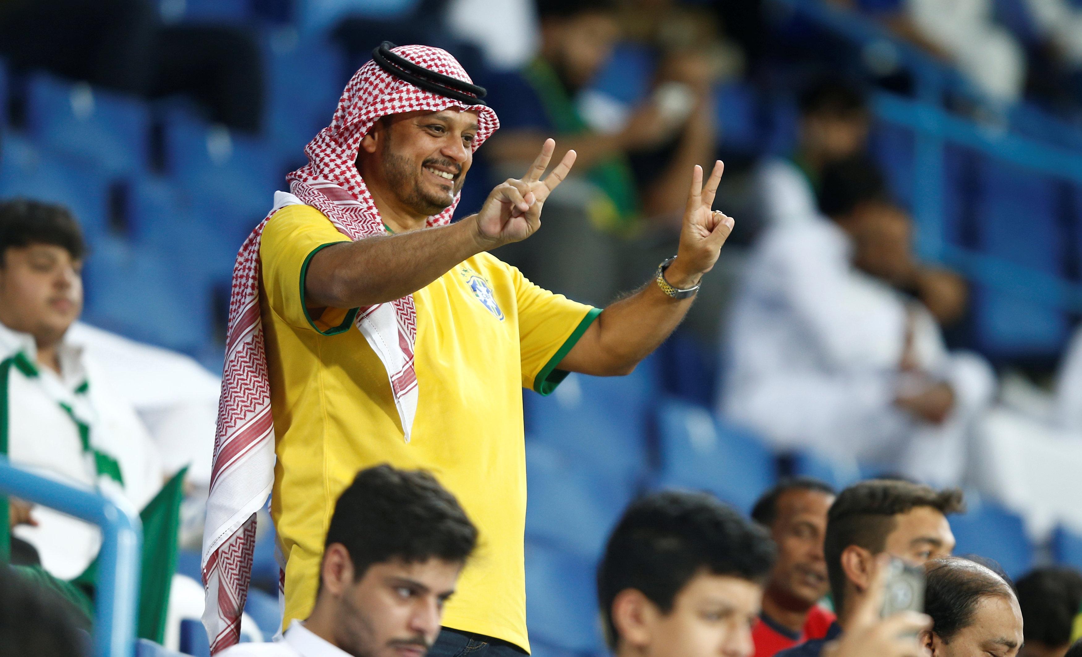 مباراة السعودية ضد البرازيل  (2)