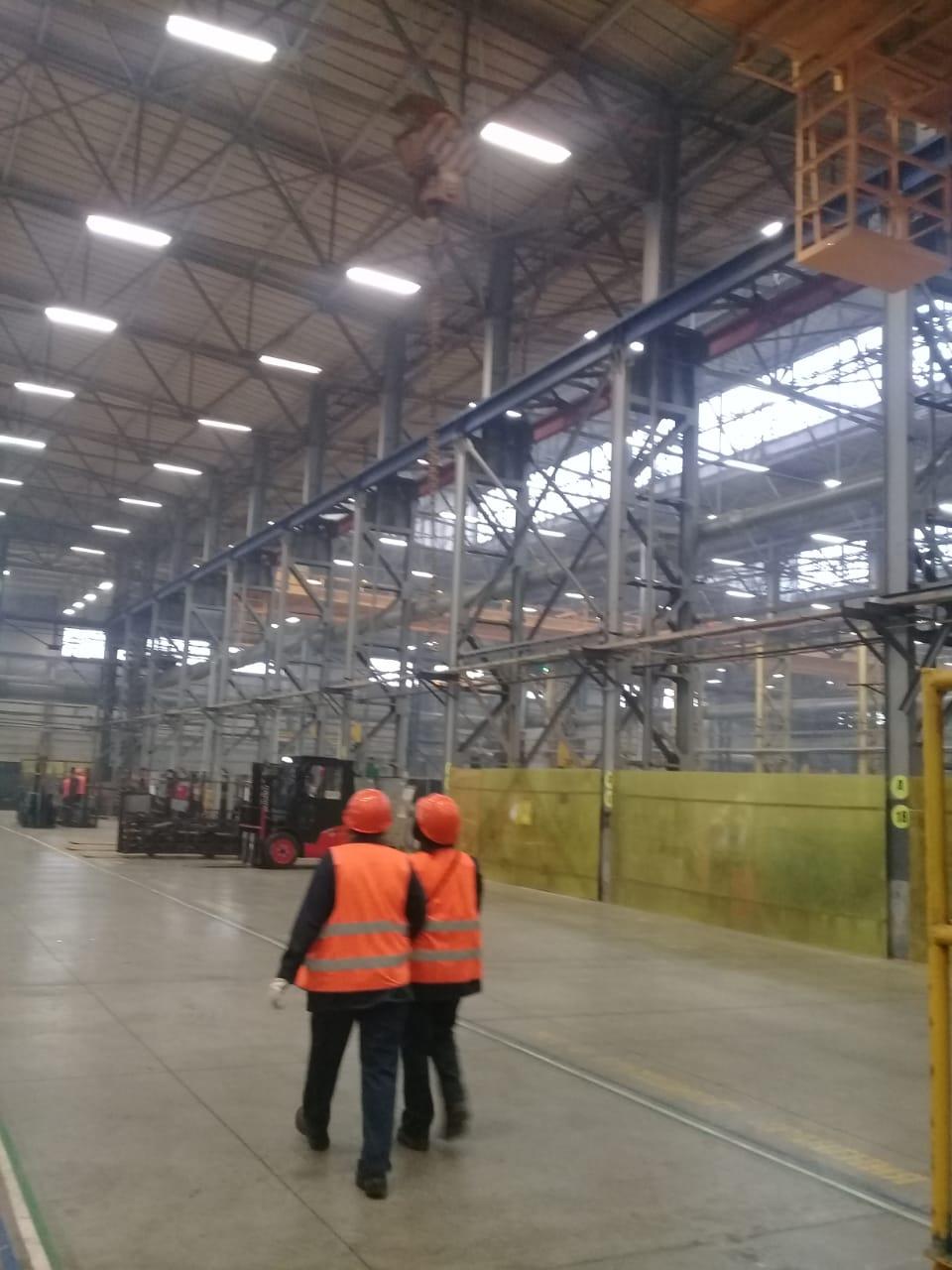 جولة لليوم السابع بمصنع جرارات السكة الحديد الروسى (38)