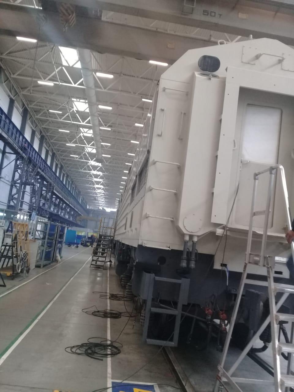 جولة لليوم السابع بمصنع جرارات السكة الحديد الروسى (6)