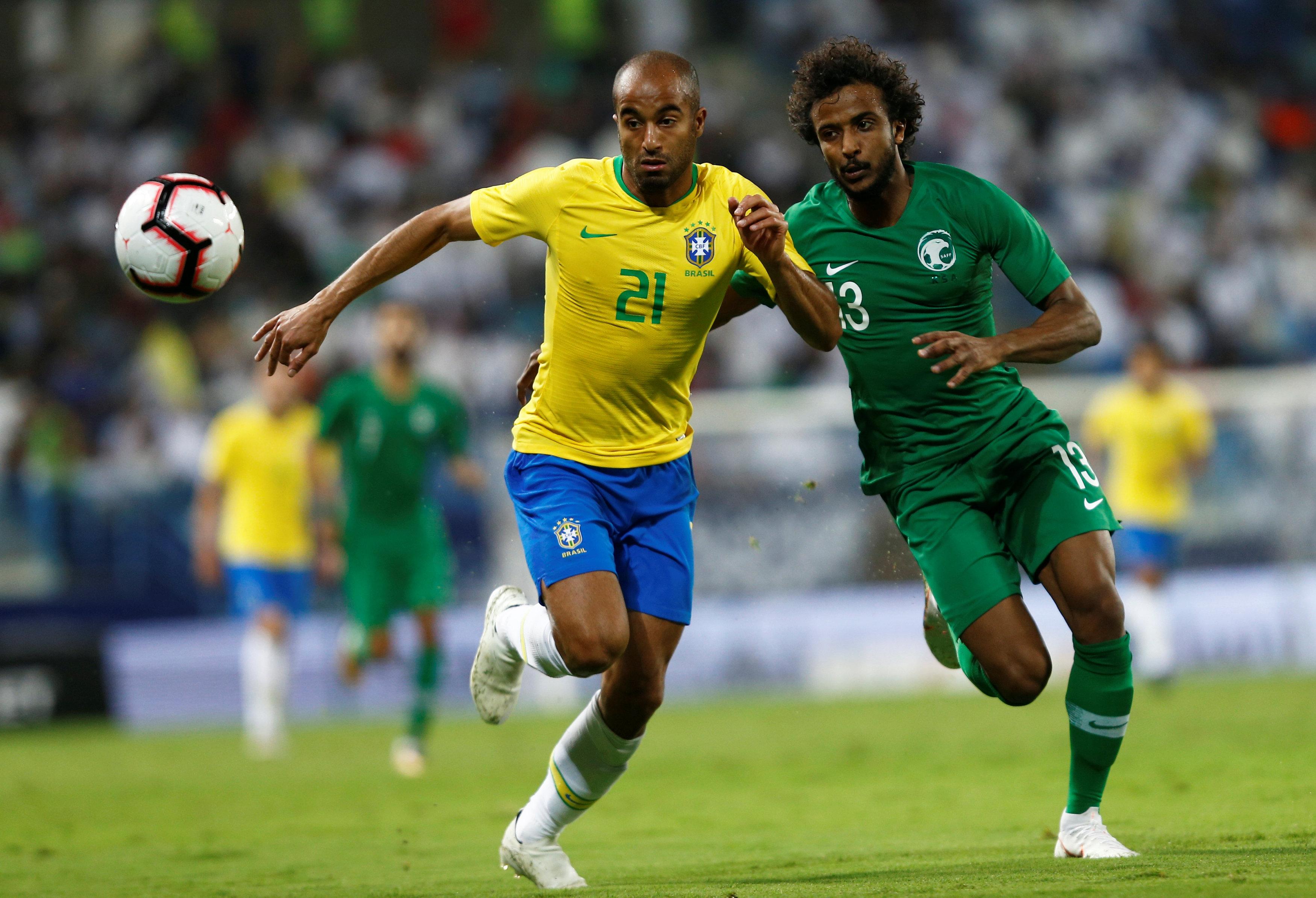 مباراة السعودية ضد البرازيل  (10)