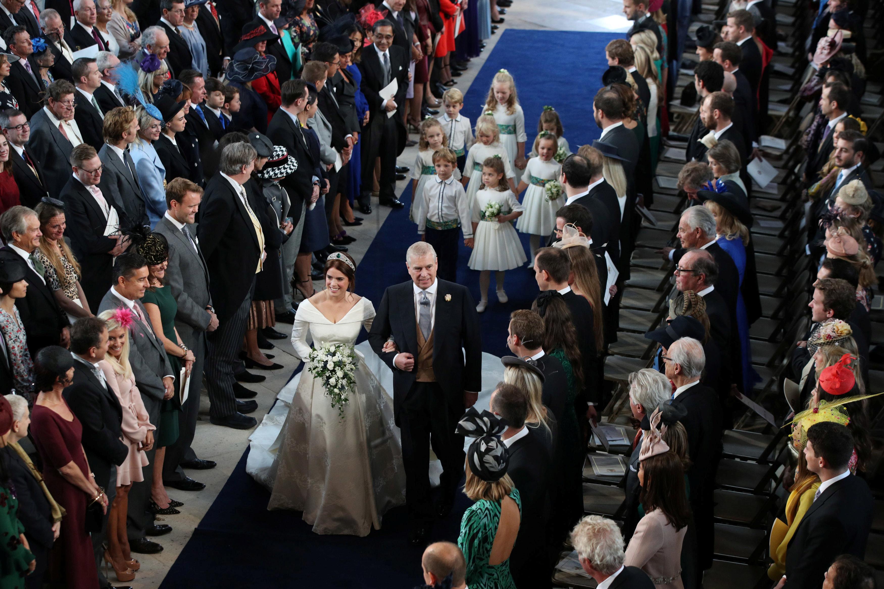 حفل زفاف الأميرة يوجينى بقلعة وندسور