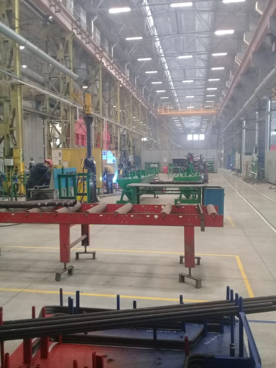جولة لليوم السابع بمصنع جرارات السكة الحديد الروسى (26)