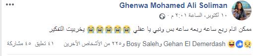 صفحة غنوة على الفيس بوك