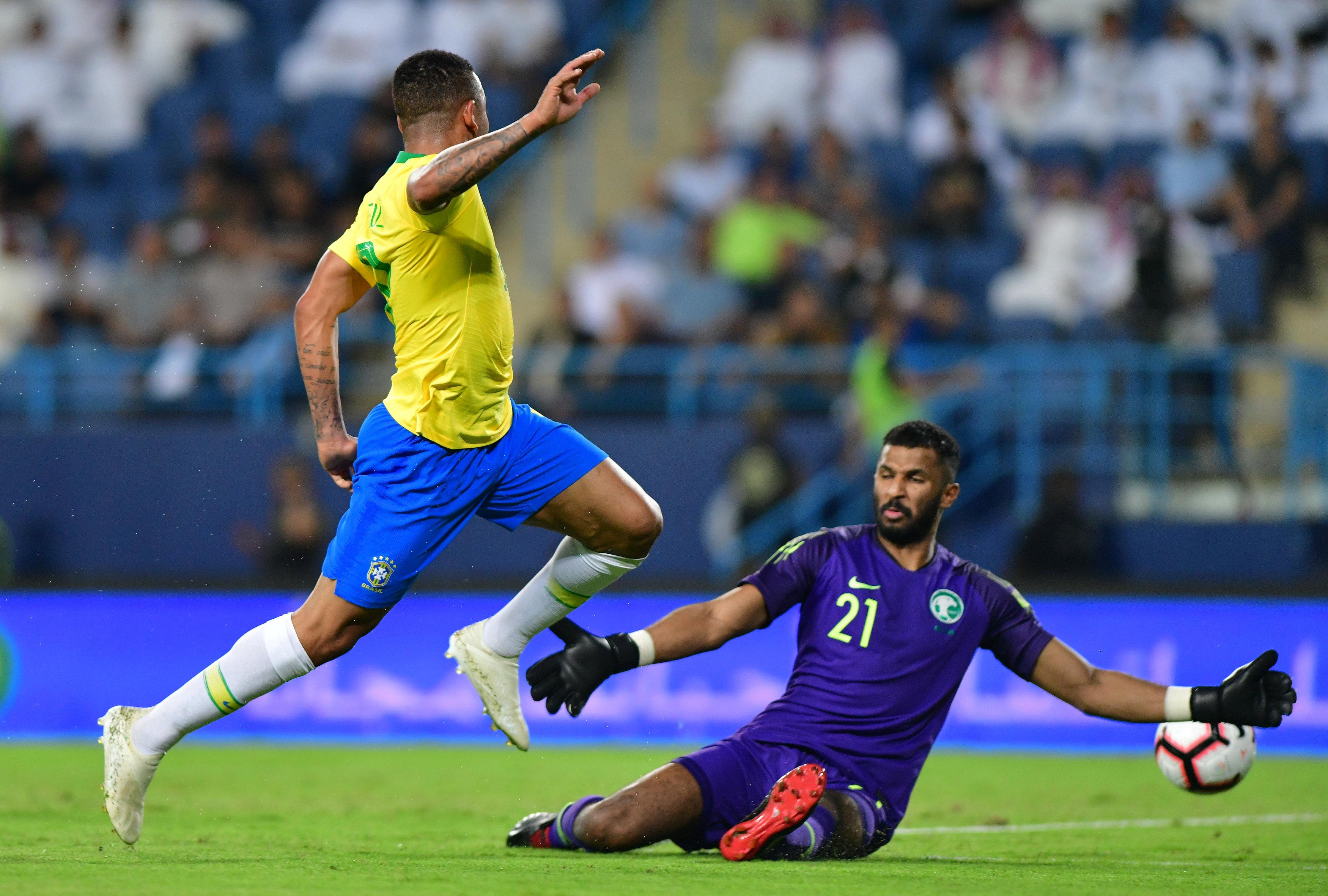 مباراة السعودية ضد البرازيل  (23)