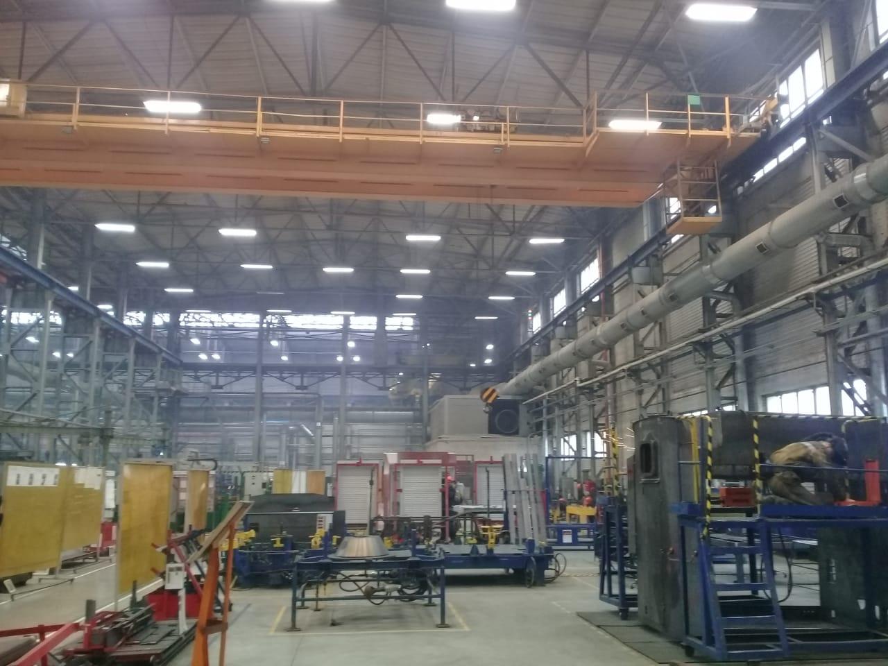جولة لليوم السابع بمصنع جرارات السكة الحديد الروسى (39)