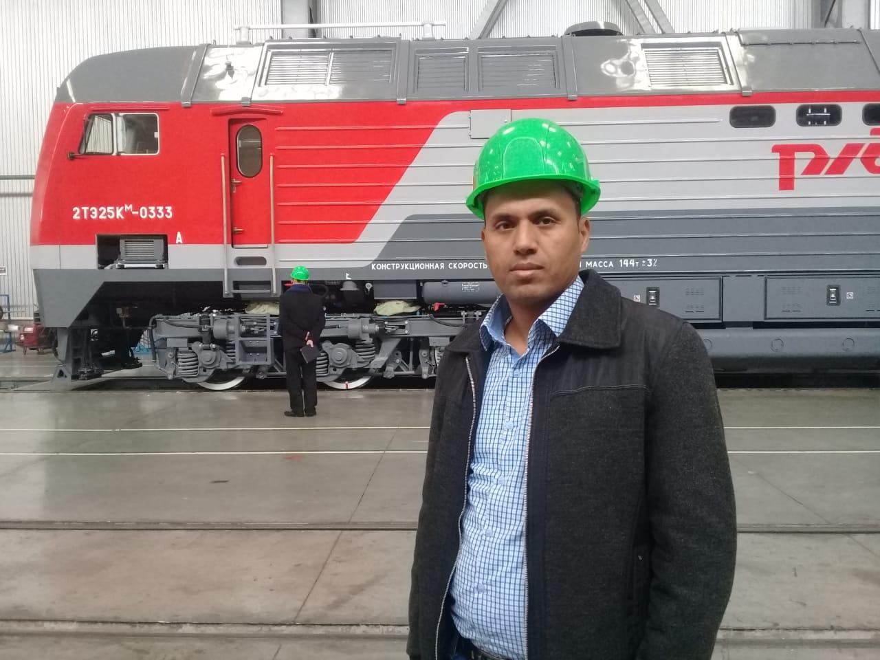 جولة لليوم السابع بمصنع جرارات السكة الحديد الروسى (1)