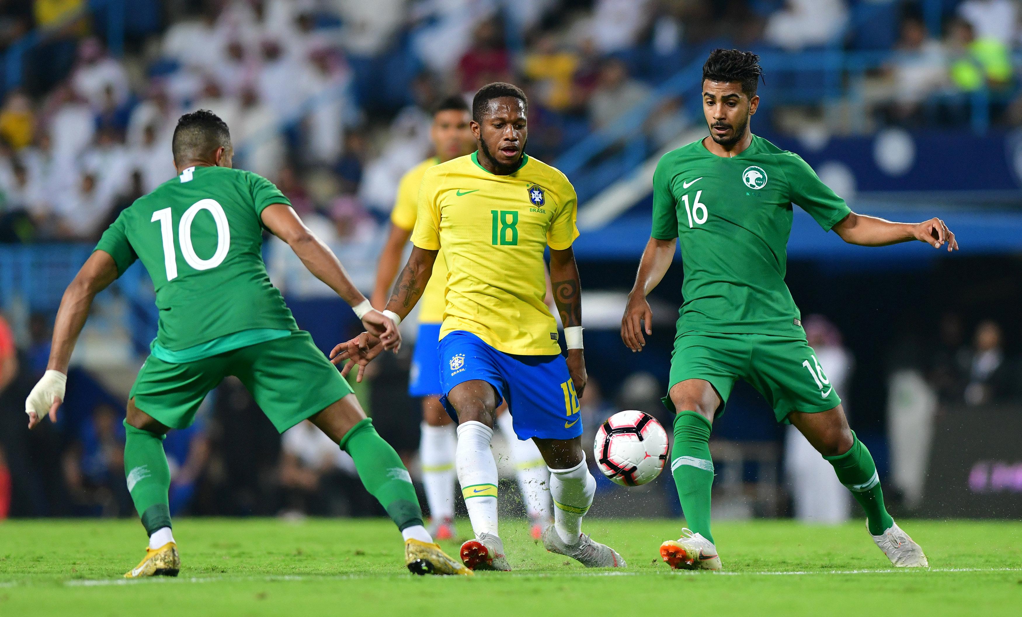 مباراة السعودية ضد البرازيل  (14)