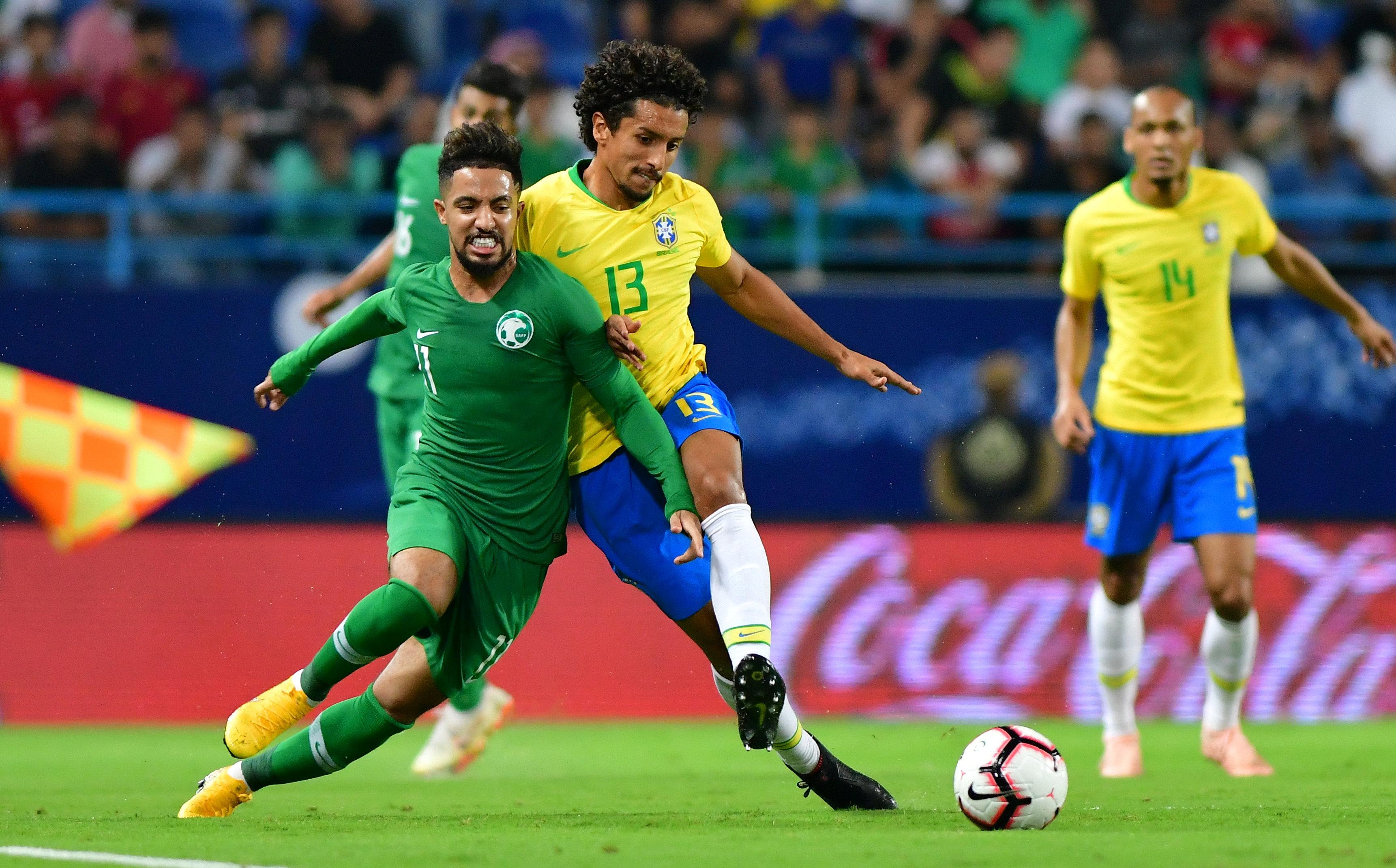 مباراة السعودية ضد البرازيل  (17)