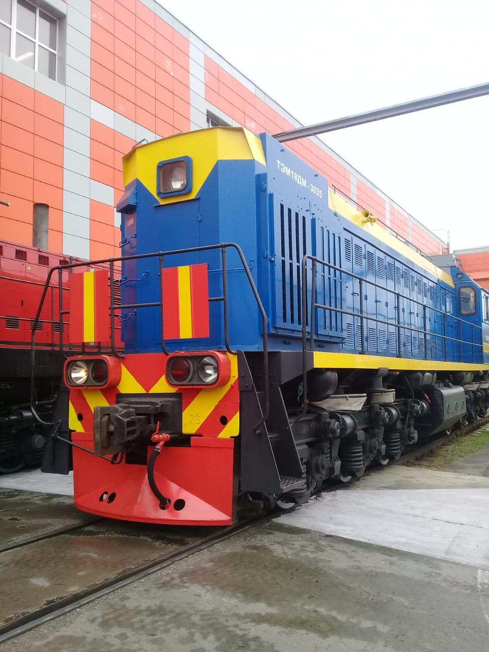 جولة لليوم السابع بمصنع جرارات السكة الحديد الروسى (21)
