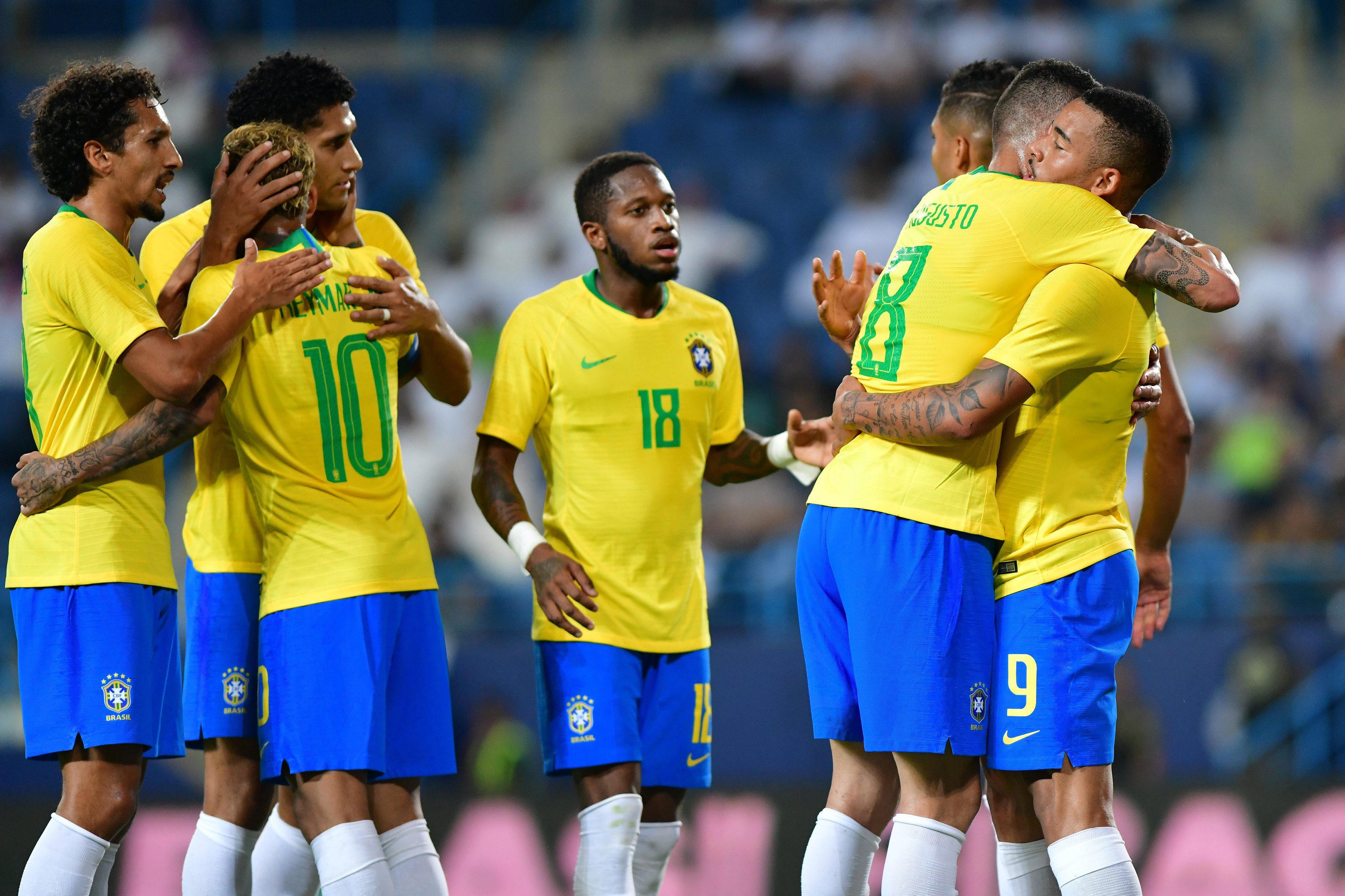 مباراة السعودية ضد البرازيل  (22)