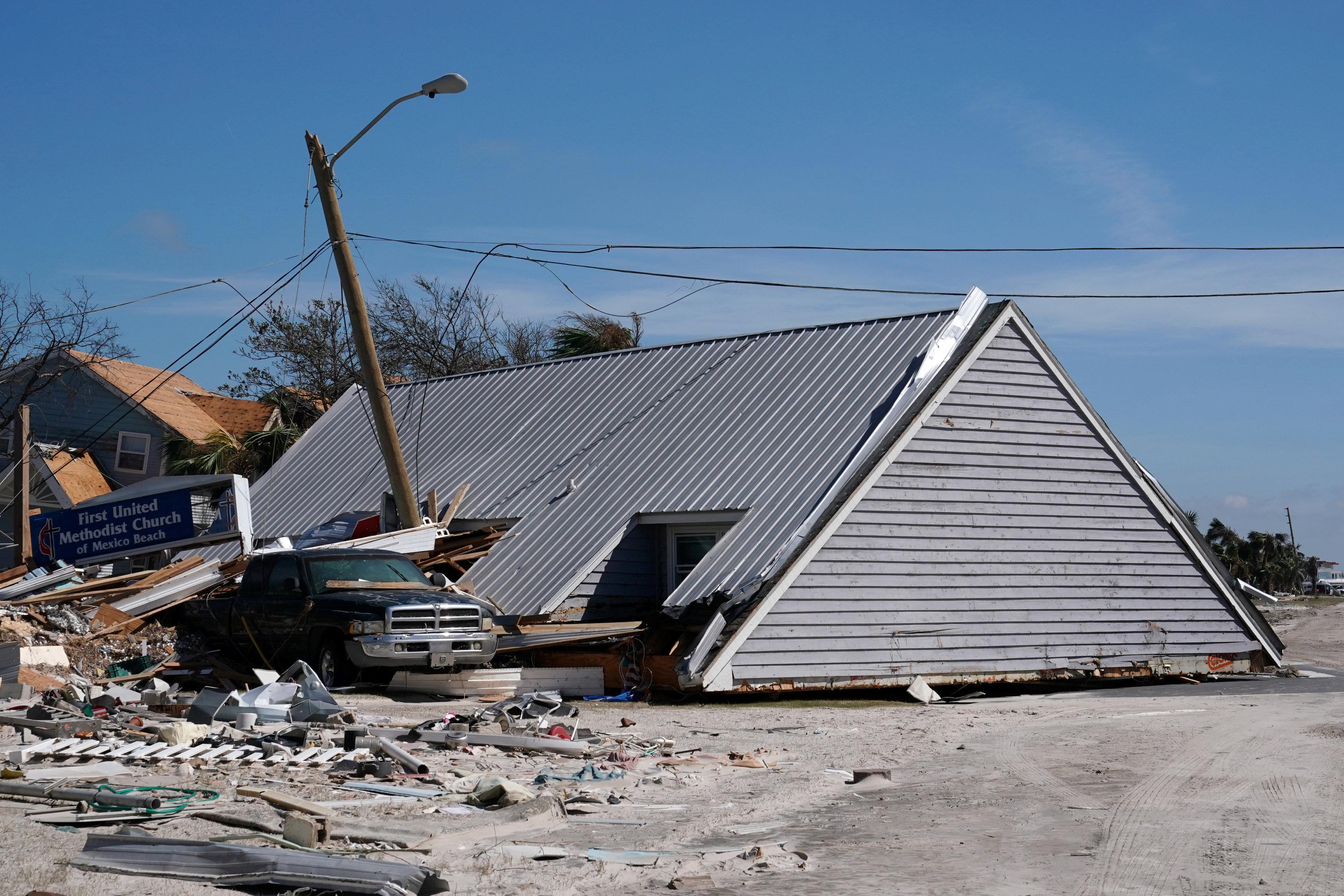 تضرر منازل ولاية فلوريدا