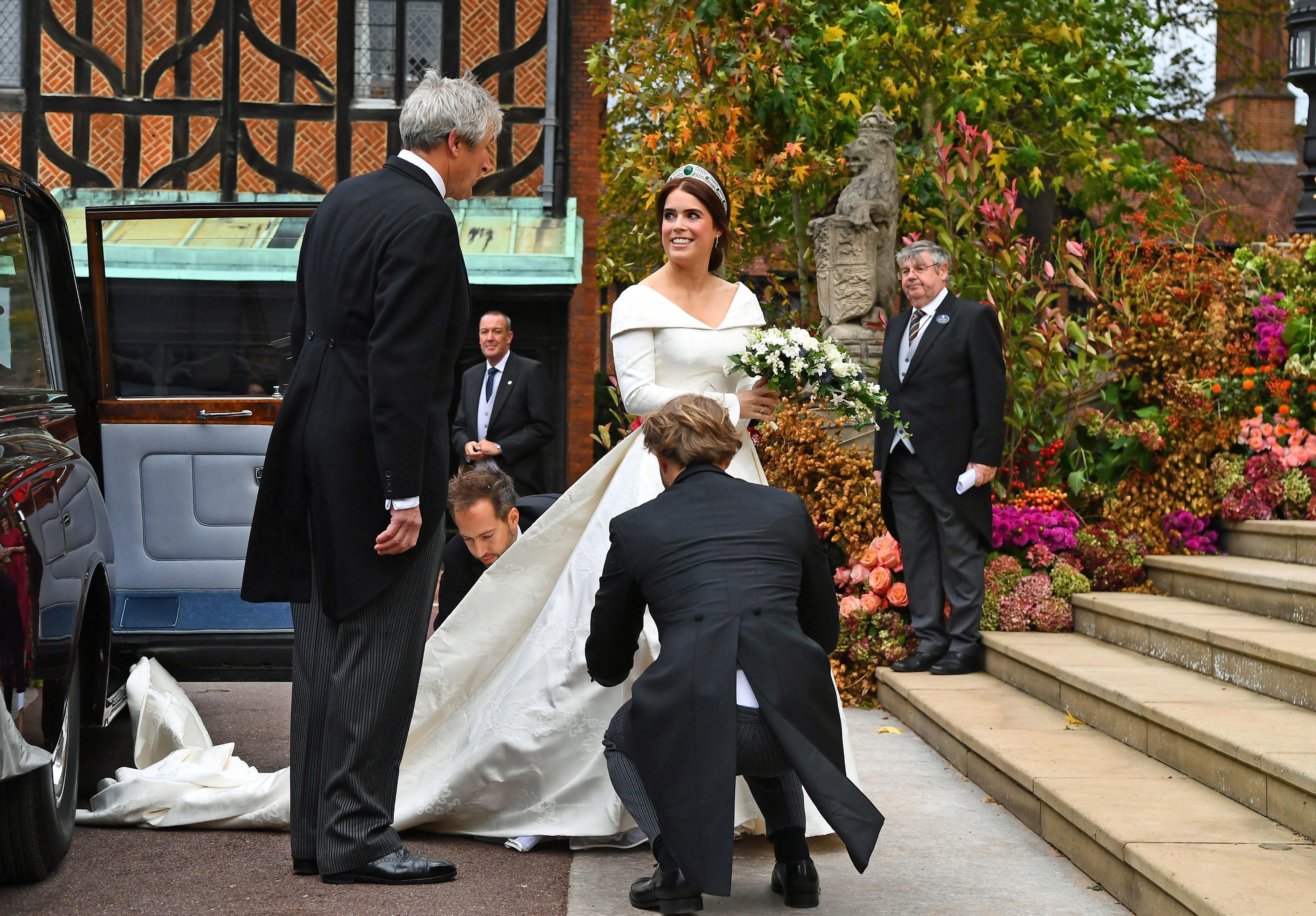جانب من مراسم الزفاف