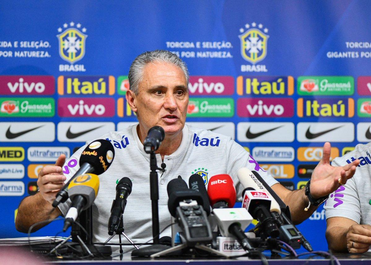 تيتي مدرب منتخب البرازيل