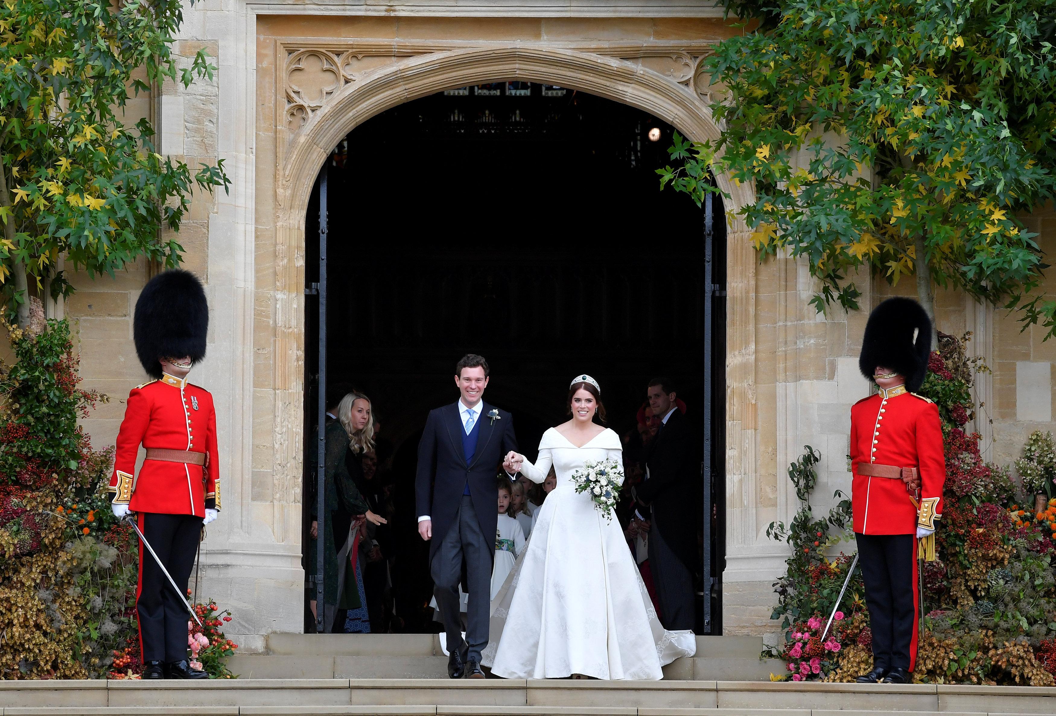 زفاف الأميرة يوجينى  و جاك بروكسبانك