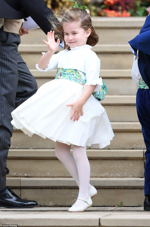 الأميرة شارلوت ابنة الأمير ويليام