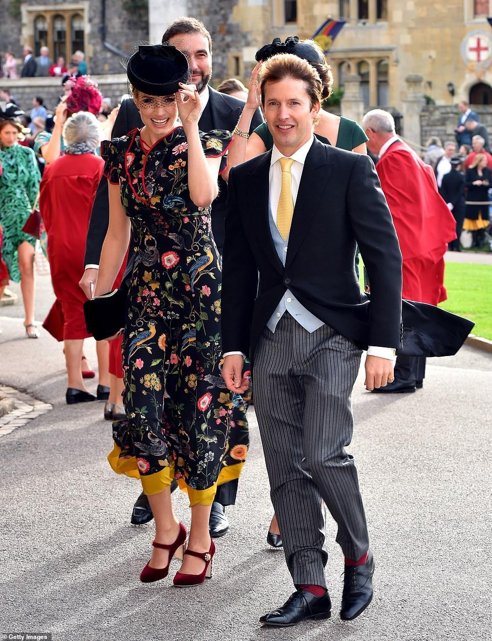 الطرب جايمس بلانت وزوجتة