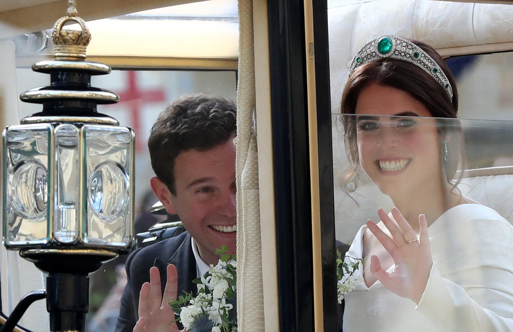 الأميرة ويجينى وزوجها