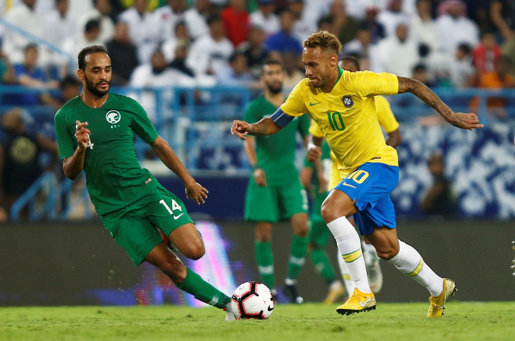 مباراة السعودية ضد البرازيل 24