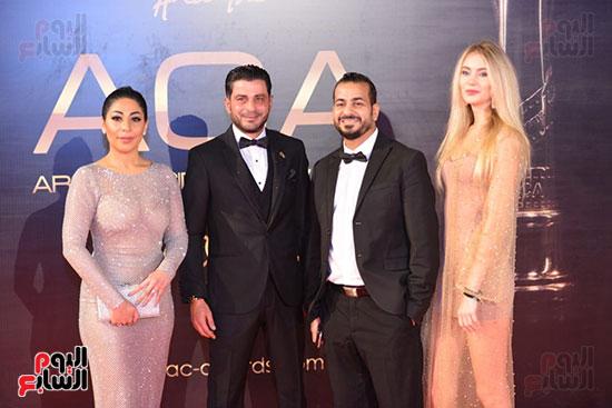 صور حفل توزيع جوائز السينما العربية ACA (1)