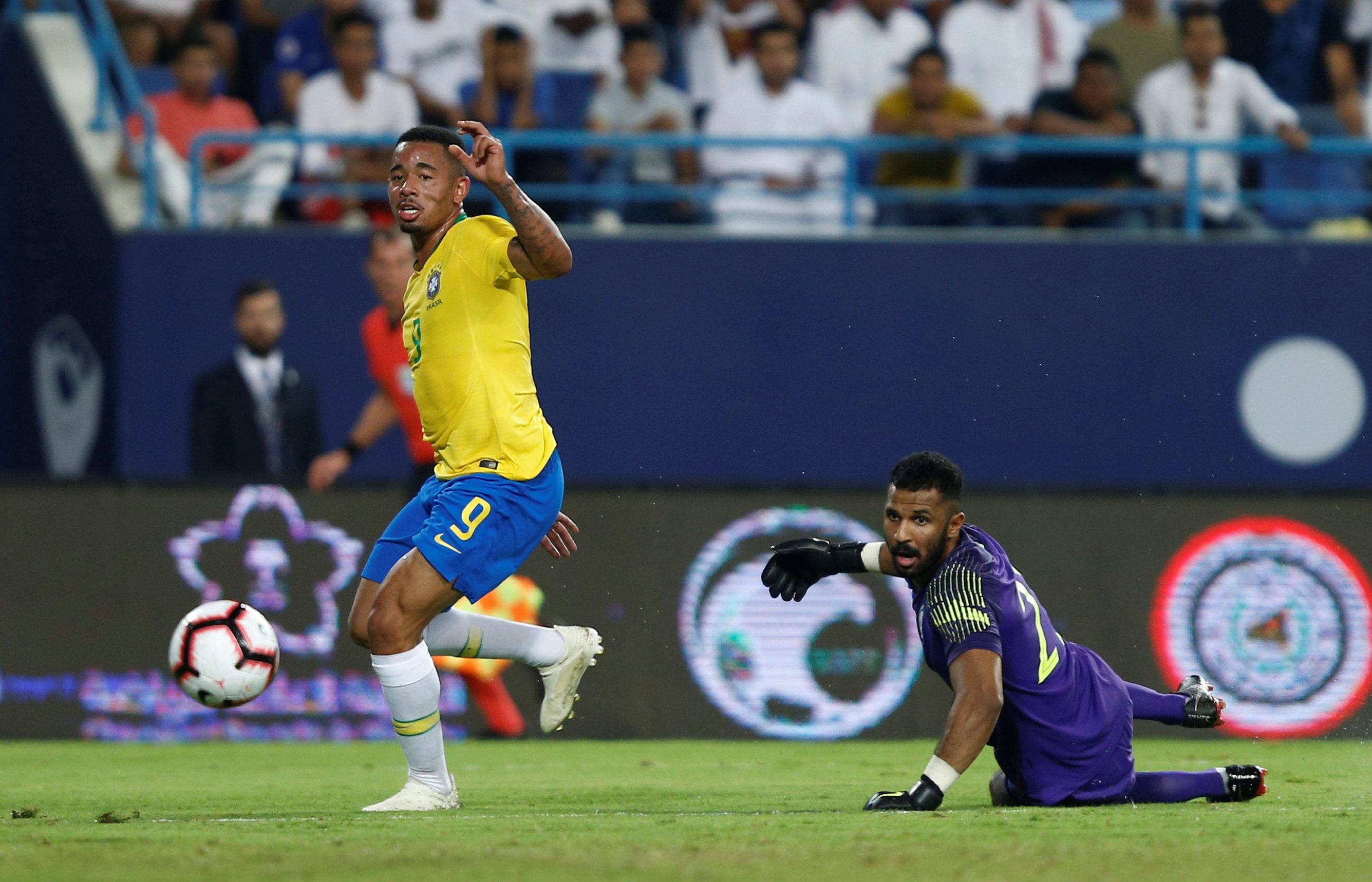مباراة السعودية ضد البرازيل  (11)