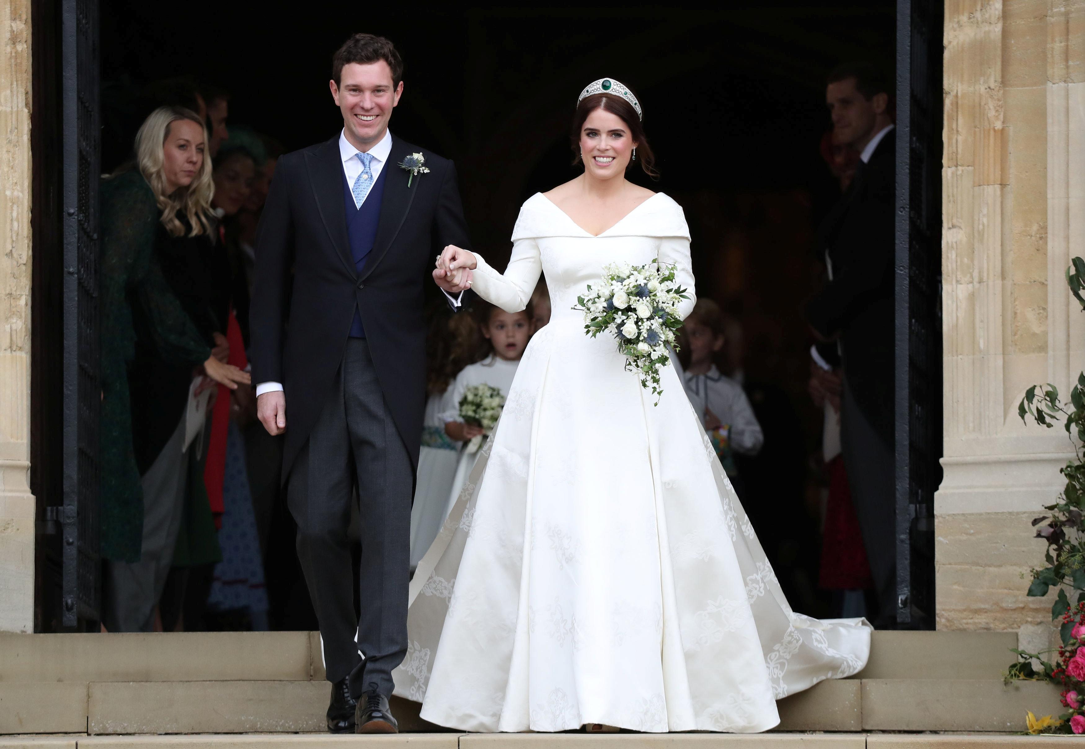 زفاف الأميرة ويجينى