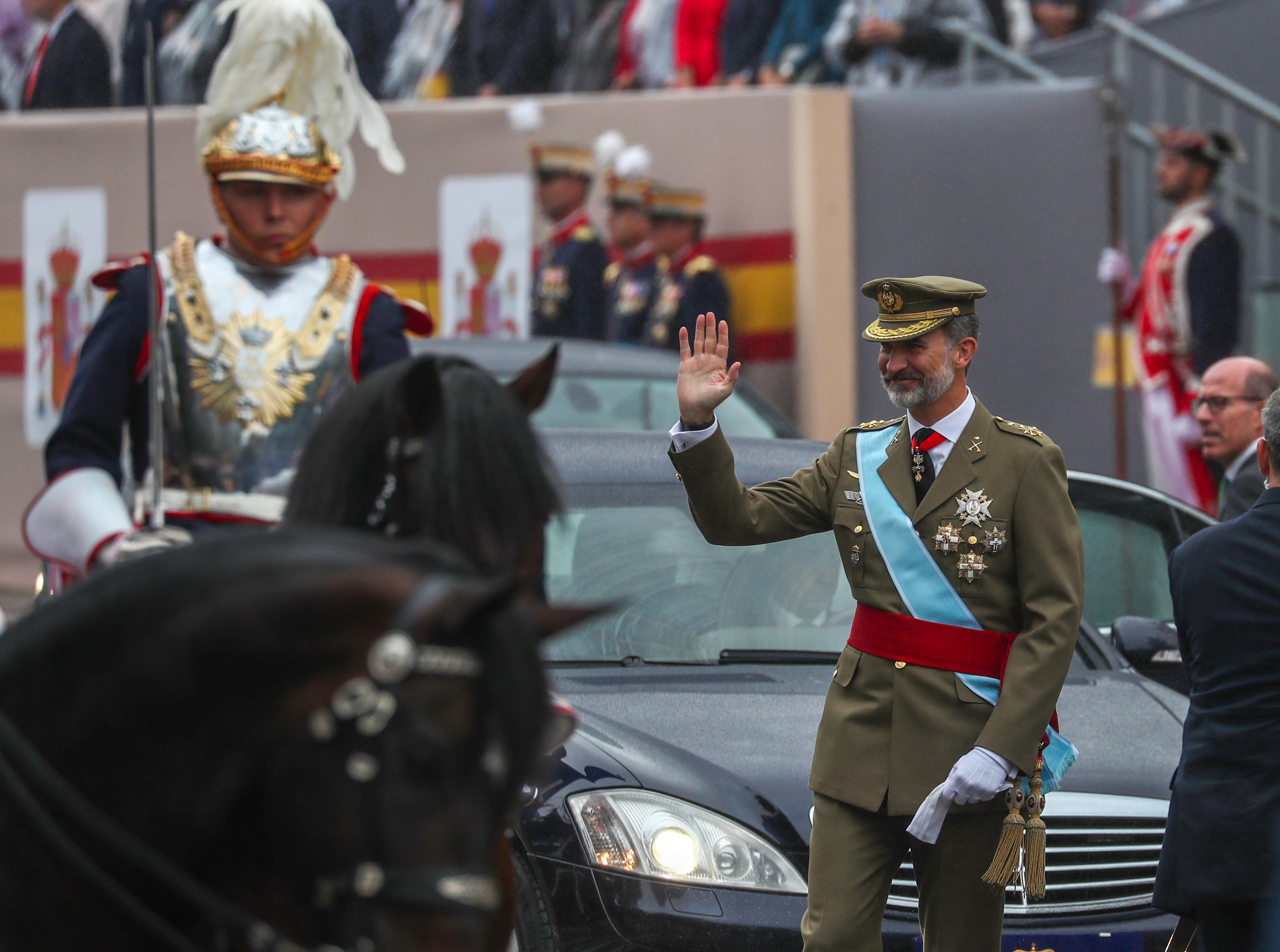 حضور الملك فيليب