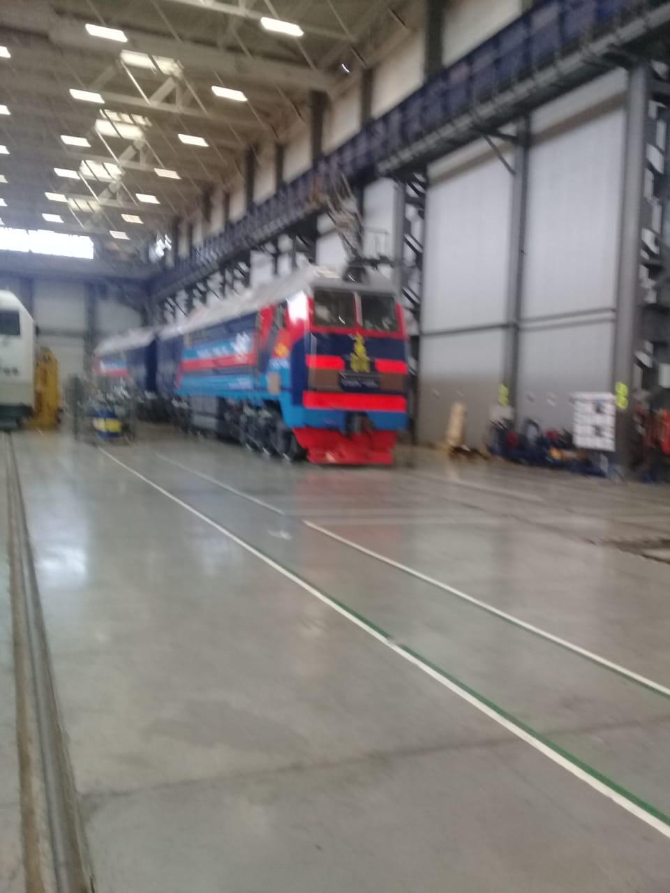 جولة لليوم السابع بمصنع جرارات السكة الحديد الروسى (3)