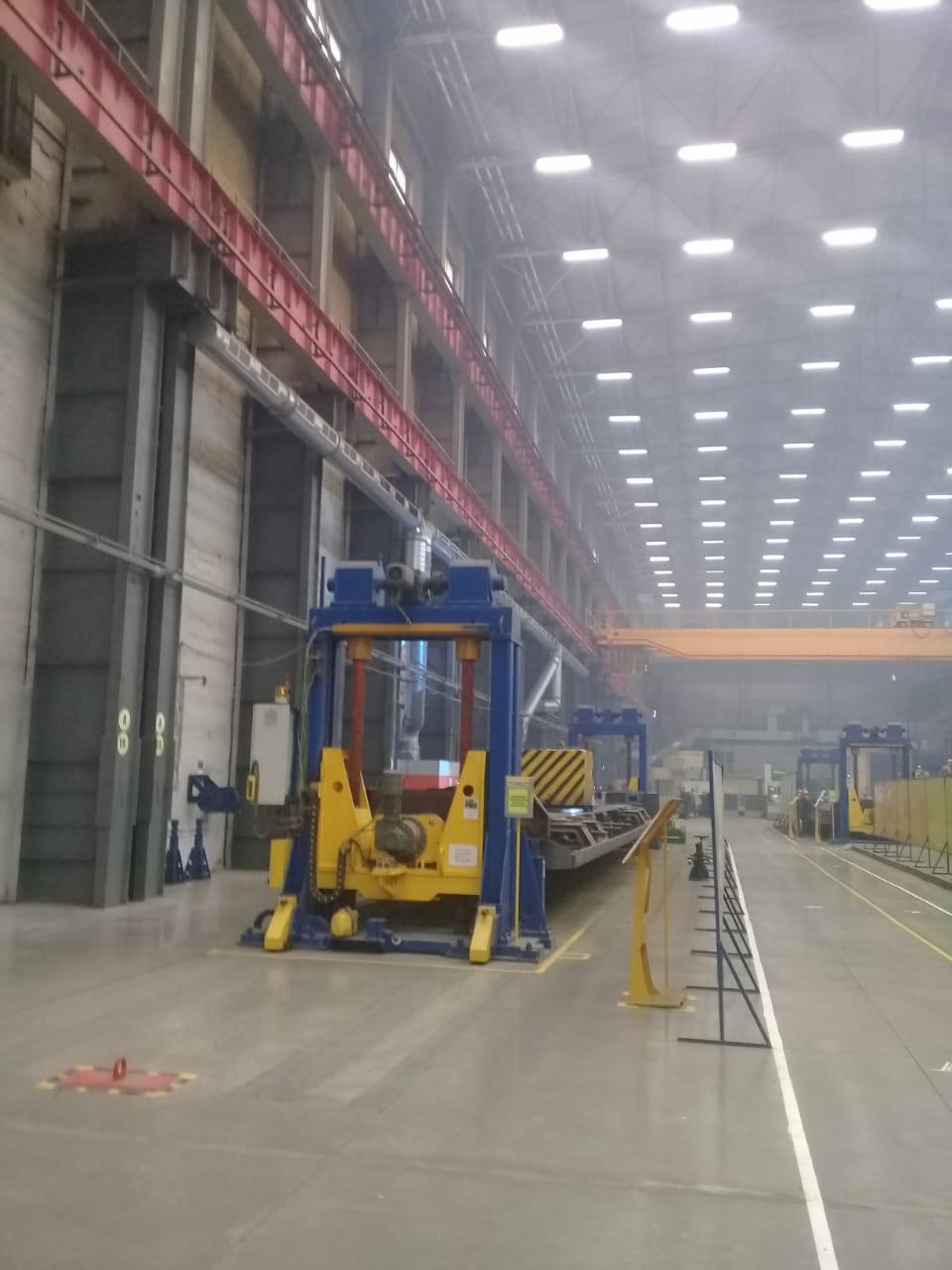 جولة لليوم السابع بمصنع جرارات السكة الحديد الروسى (15)