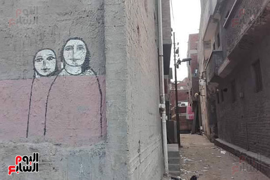 42 فنانا تشكيليا يبدعون لتوعية بخطورة الهجرة غير الشرعية بكفر الشيخ (7)