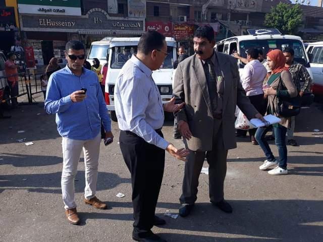 محافظ الشرقية يتفقد أعمال النظافة بشوارع المدينة (3)