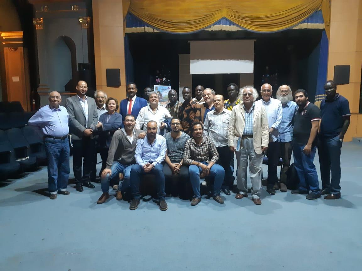 افتتاح نادي السينما الافريقية بالاسكندرية