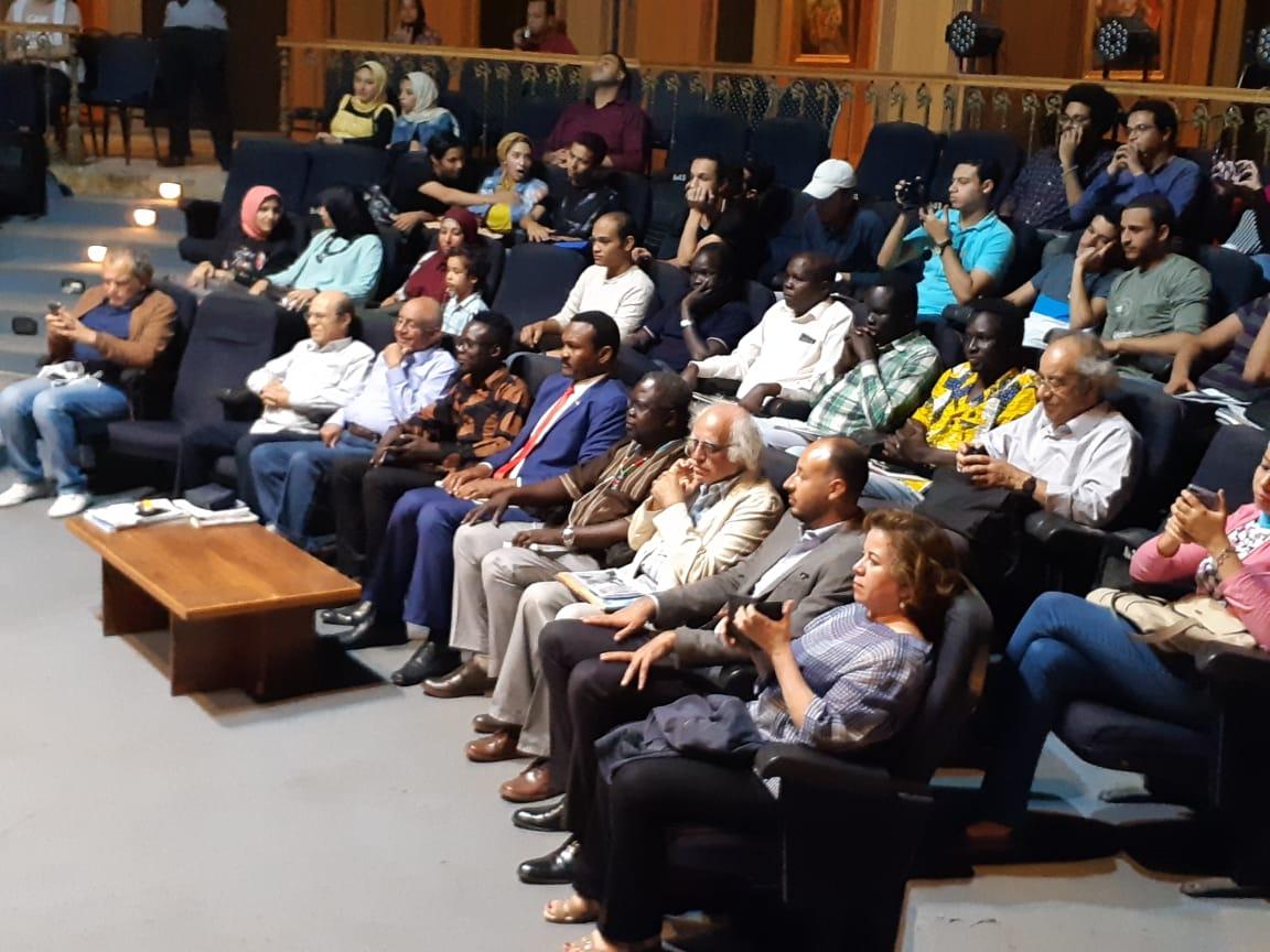 جمهور الاسكندرية الذي حضر الافتتاح