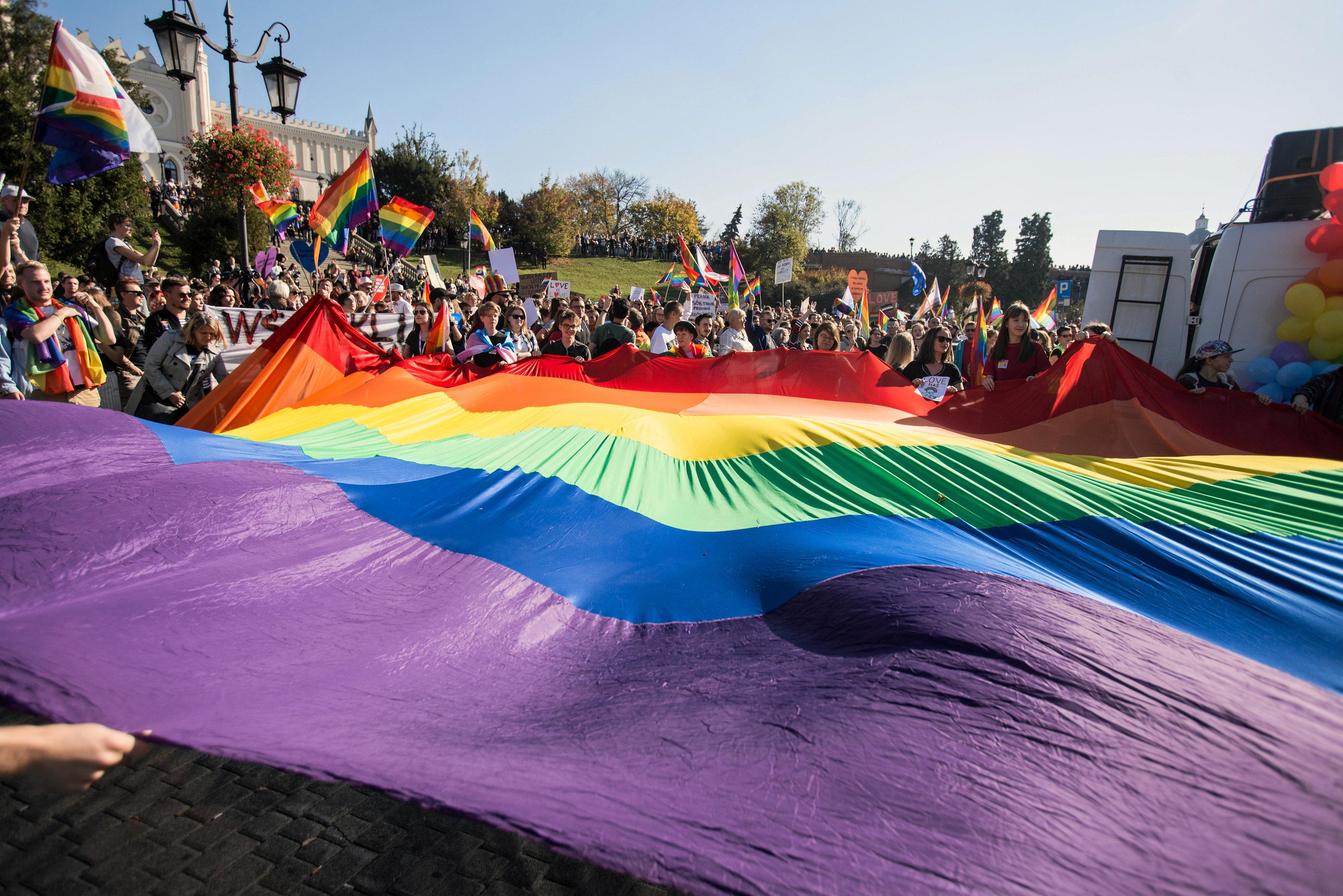 مسيرة المساواة فى بولندا