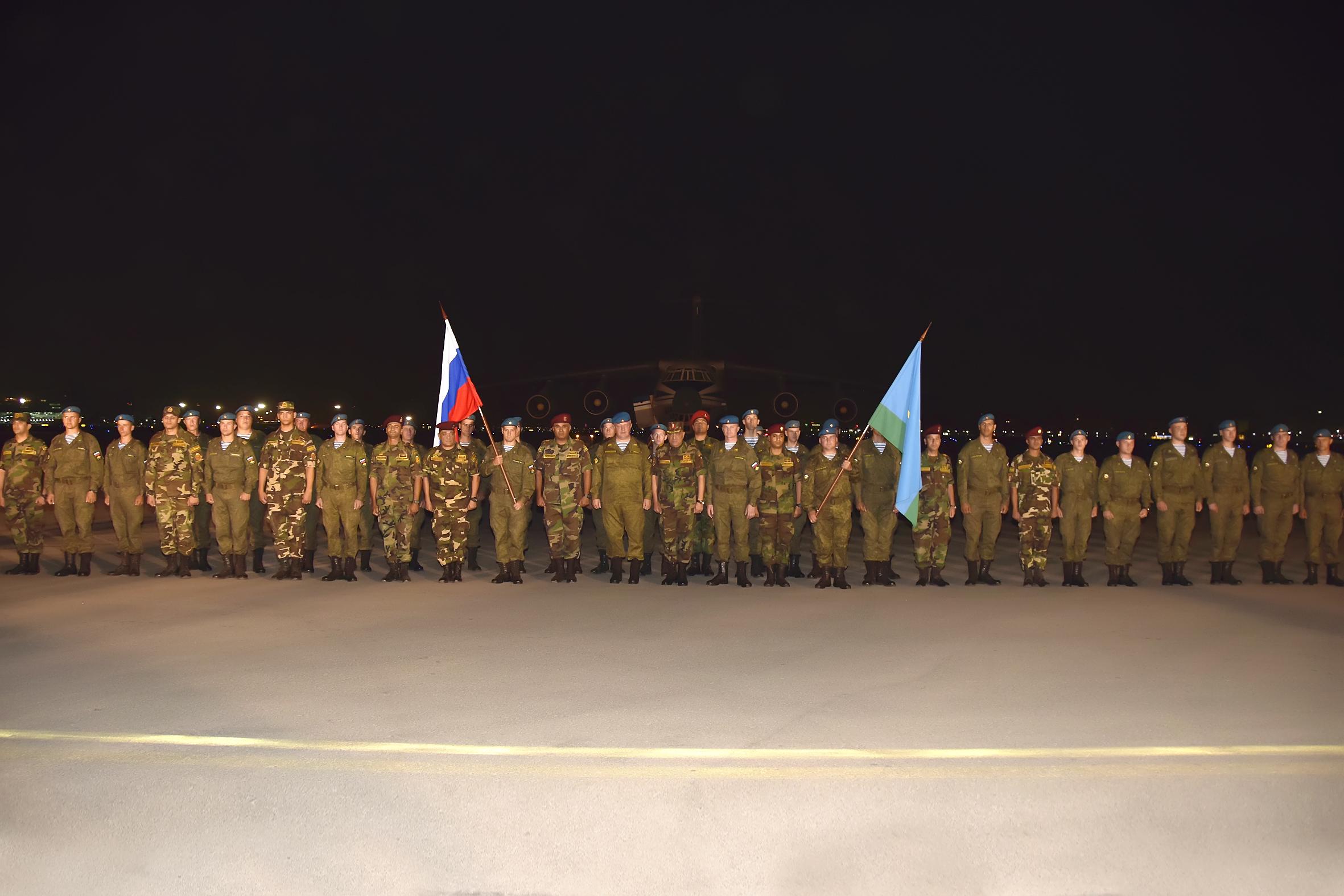 تدريب حماة الصداقة بين مصر وروسيا (3)