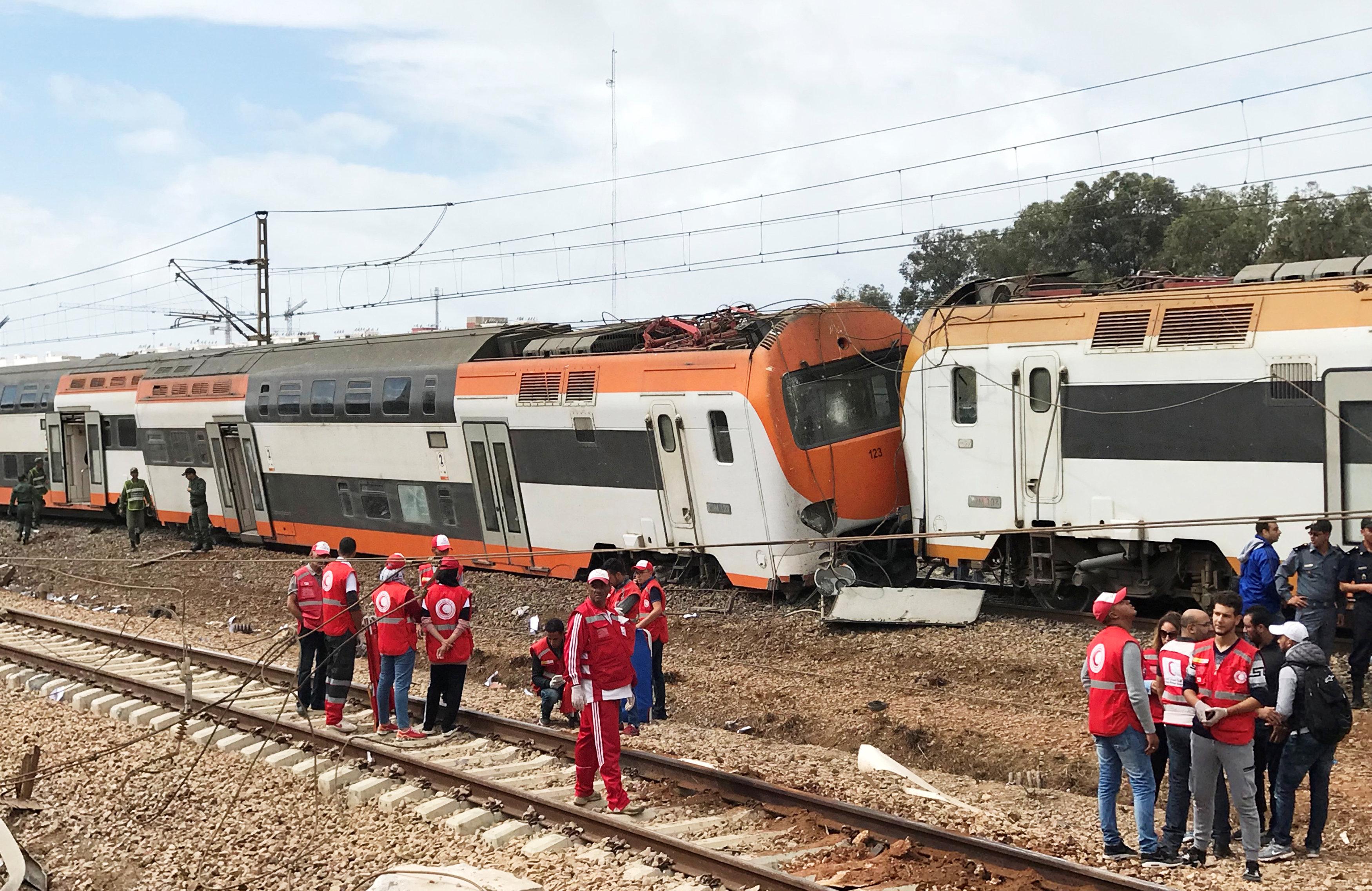 قطار المغرب (2)